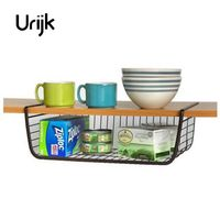 Urijk White Cabinets Racks Wardrobe Storage Rack Kitchen Shelves Finishing Frame Dormitory Bookshelf Office Storage Rack