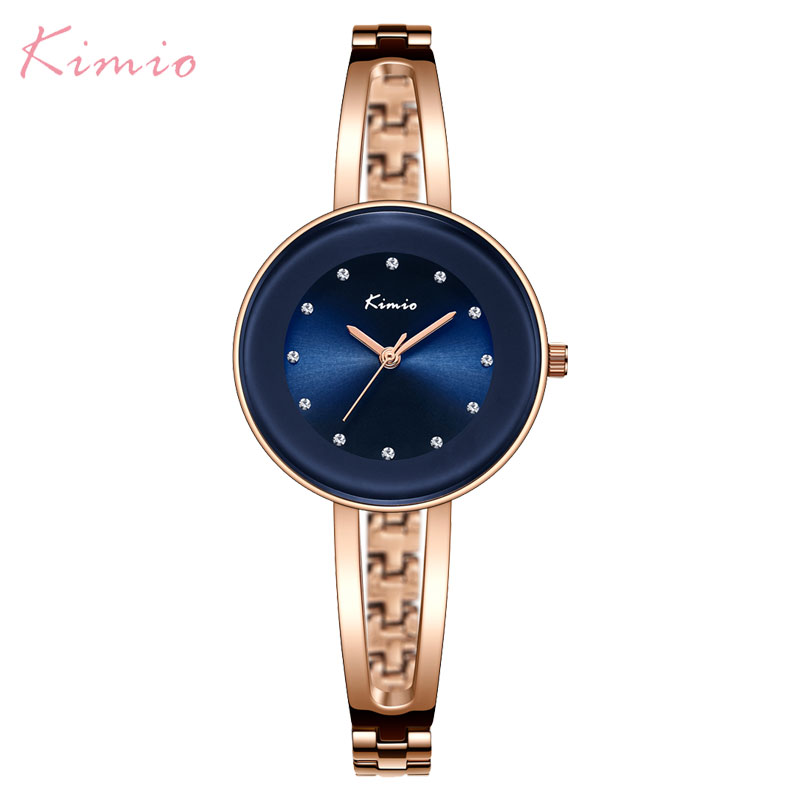 fashion women quartz watch KIMIO brand bracelet watches luxury lady watches 2018 gift clock dress wristwatches square case bs brand women luxury fashion rhinestone watches lady shining dress watch square bracelet wristwatch ladies diamond quartz watch
