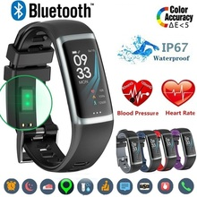 купить JQAIQ Ip67 Waterproof Smart Wristband Smart Bracelet Heart Rate Monitor Blood Pressure Oxygen Heart Rate Fitness Tracker в интернет-магазине
