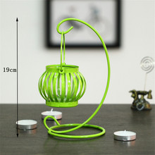 Candy Color Pumpin Candlesticks Home Decor Moroccan Style Candlestick Candleholder Candle Stand Light Holder Lantern Holders