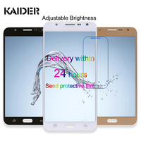 Super Amoled LCD Display Touch Scree For Samsung Galaxy J7 2015 J700 J700F Phone Digitizer Assembly