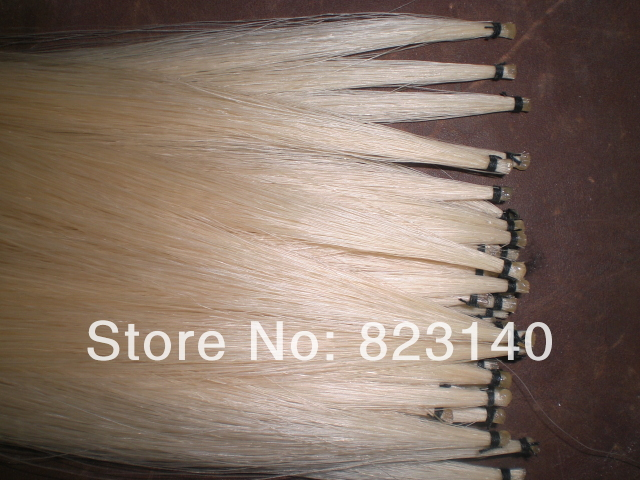 40 Hanks Mongolia Violin Bow Hair 32 (6 grams/hank), Violin horse hair manufacturers price straight for 1064nm hair eyebrow qubanqudou nenfu opt laser probe 2 pieces