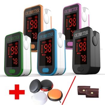 17c77ac6a PRO-F4 + bolsa oxímetro de pulso de dedo, corazón en 1 Min de Monitor de  pulso del corazón de oxígeno en la sangre SPO2 aprobación CE