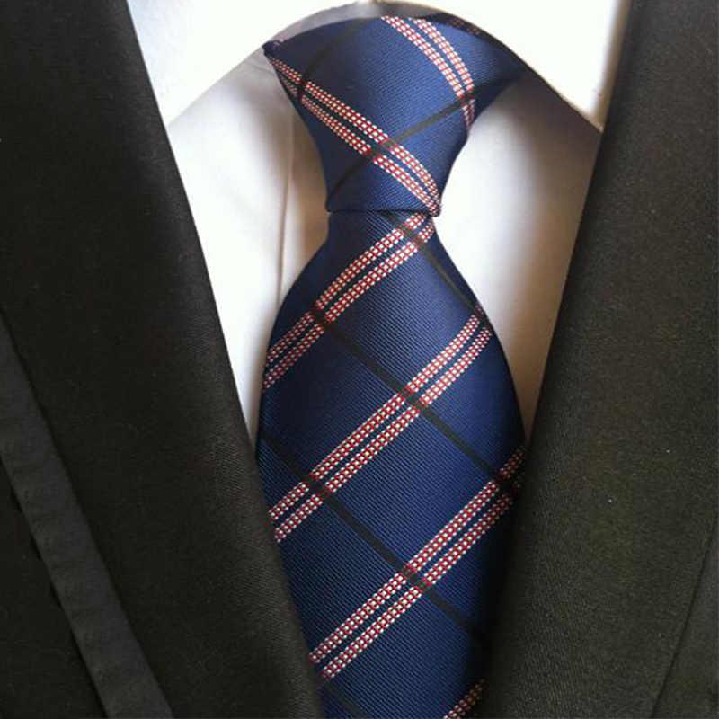 Mantieqingway модный мужской галстук из полиэстера цветочный галстук для мужчин s бизнес Vestidos галстук жениха клетчатый стильный галстук на шею