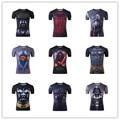 3D de Star Wars Darth Vader Camisetas Divertidas Camisetas de Diseño Los Hombres a medida Camisas de las Camisetas O Cuello Tops Tamaño Euro Vintage vestido