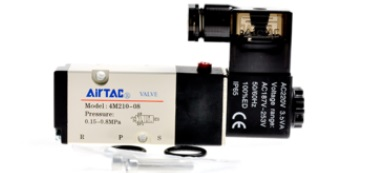 AirTac new original authentic solenoid valve 4M310-08 AC220V airtac new original authentic solenoid valve 4m310 08 dc24v