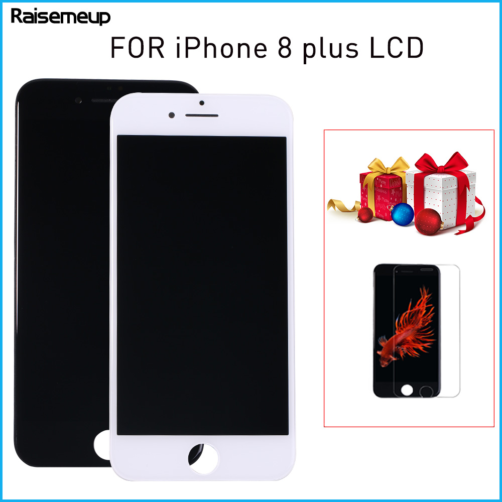 3D Touch Screen <font><b>lcd</b></font> Digitizer Display Assembly Replacement Parts for <font><b>iphone</b></font> <font><b>8</b></font> plus <font><b>LCD</b></font> Wholesale AAA Digitizer Replacement <font><b>ecran</b></font> image