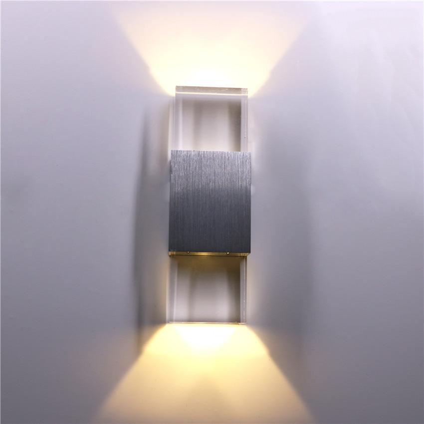 6w Led Acrylic Wall Light AC85-265V Wall Sconce Living Room Bedroom Background wall Corridor Patio Wall Lamp BL116w Led Acrylic Wall Light AC85-265V Wall Sconce Living Room Bedroom Background wall Corridor Patio Wall Lamp BL11