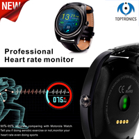 Toptronics bluetooth smart watch health sport electronics smartwatch for apple huawei gear wearable devices support heart rate
