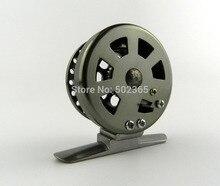 10pcs Deep Sea Mini Full Metal Aluminum Fly Fish reel 5cm  fly fishing reel Ultra-light Winter Fishing Tackle Ice reels