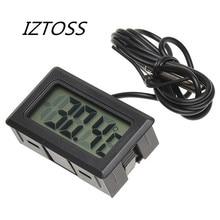 IZTOSS цифровой ЖК-дисплей измеритель температуры в помещении диагностические инструменты термометр датчик температуры