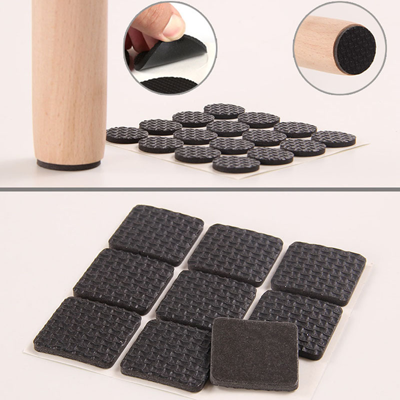Floor Scratch Protector Pads Multifunction Furniture Protection Pad Rubber Self Adhesive Anti-Skid  New multifunction furniture protection pad rubber self adhesive anti skid floor scratch protector pads hot sale
