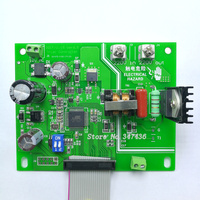 Soldadura de ponto da bateria do painel de controle  16 controle do microcomputador único chip  1602 LCD  codificador de pulso duplo