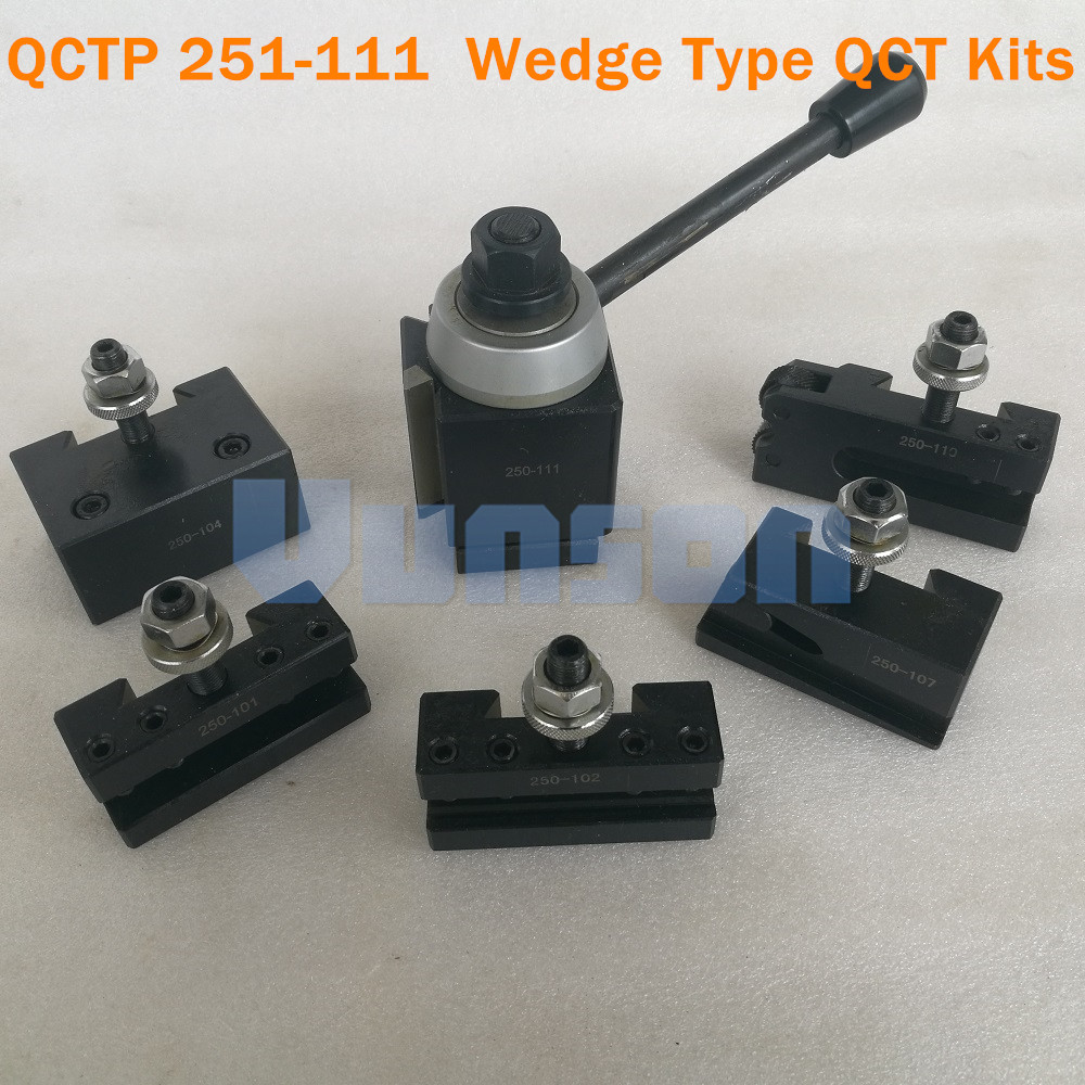 QCTP 251 111 Wedge Type quick change tool QCT kits 1pcs Wedge type tool post turret