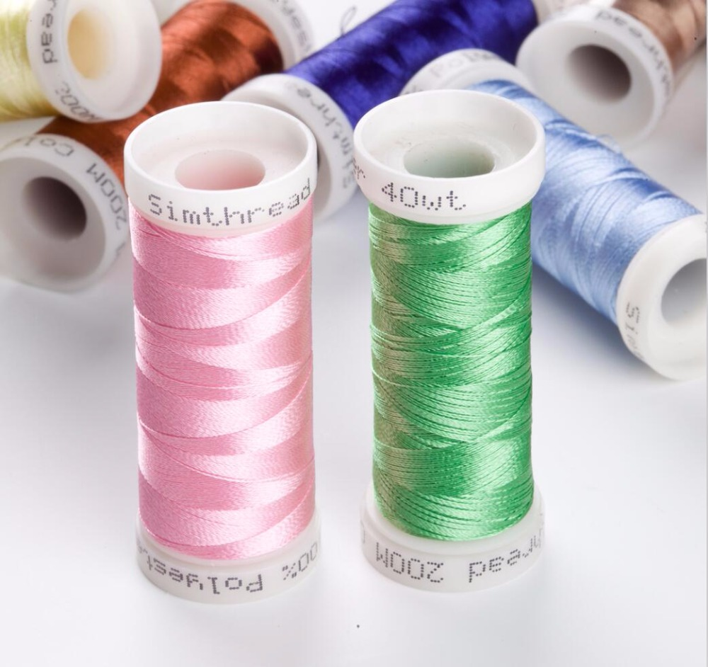 32 Brother Colors Series French Embroidery Thread for hand/machine embroidery