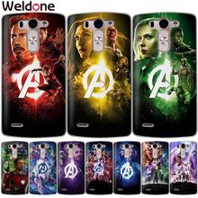 Marvel Avengers4: Endgame Phone Cases For LG Q6 G6 G7 V30 XPower 2 3 K4 K8 K10 2017 K7 XScreen G4 G5 iron Man case Etui Cover
