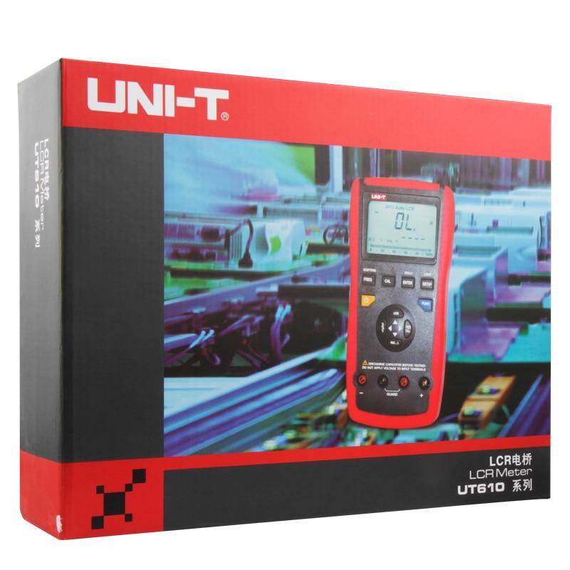 UNI T UT612 LCR Meter Digitální indukčnost Kapacitní odpor - Měřicí přístroje - Fotografie 5