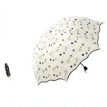 Фотография Floral Flower umbrella Sunny and Rainy Women