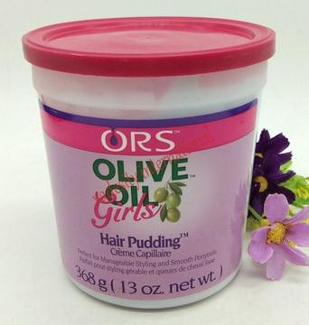 Organic Root Stimulator Olive Oil Girls Hair Pudding /368g