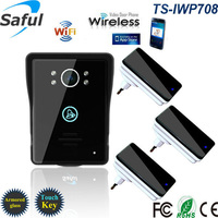 2016 Wireless Wifi Video Intercom Door Phone For Access Control System Android IOS Phone APP Remote