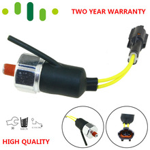 Excavator Engine Oil Warning Pressure Switch Sensor For Isuzu 6BG1 4BG1 KOBELCO SK100-5 SK120-5 1-82410170-1 97749781