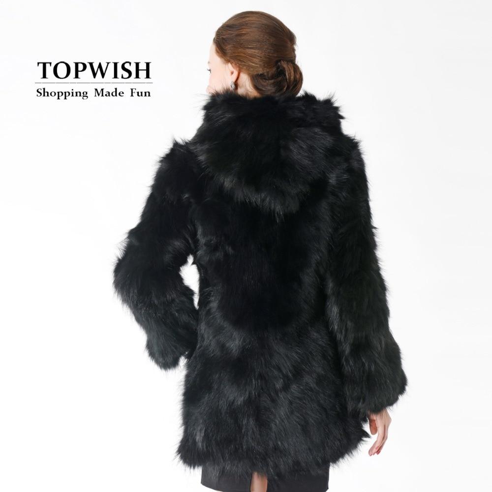 Réel Fourrure Capuche 100 Usine Gros Veste Manteau En Chaud Nouveau Femme Tnt422 De Nature Long Laveur Raton Épais Mode Avec aIRPnx