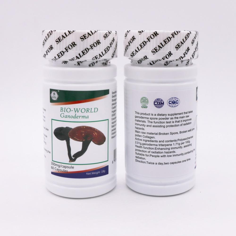 Chinese health herbal medicine supplement - Ganoderma Lucidum Lingzhi Wild Reishi Spore Powder Chinese Herbal Medicine Anti