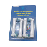 4pcs Electric toothbrush head for Oral-B Electric Tooth brush Replacement Brush Heads for Teeth Clean 1