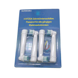 Image 2 - 4 adet elektrikli diş fırçası başı oral b elektrikli diş fırçası yedek fırça başkanları diş temizliği için