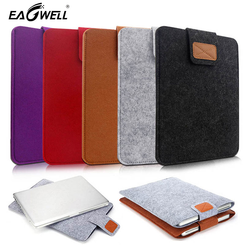 7.9 9.7 inch Universal Wool Felt Tablets Sleeve Bag Case for iPad <font><b>1</b></font> 2 3 <font><b>4</b></font> Mini Air 2 For Samsung Mipad Cover Case Pocket Pouch image