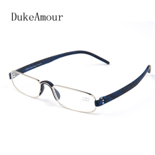 GUANHAO Reading Glasses Metal Frame Resin Lens Men And Women Comfortable nose pads 1.0 1.5 2.0 2.5 3.0 3.5 4.0