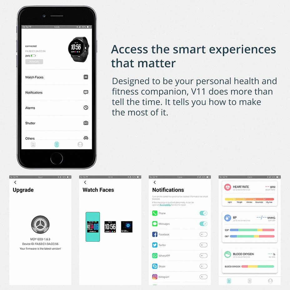 COLMI כושר פעילות tracker IP67 עמיד למים חכם שעון מזג זכוכית קצב לב צג גברים נשים שעון smartwatch