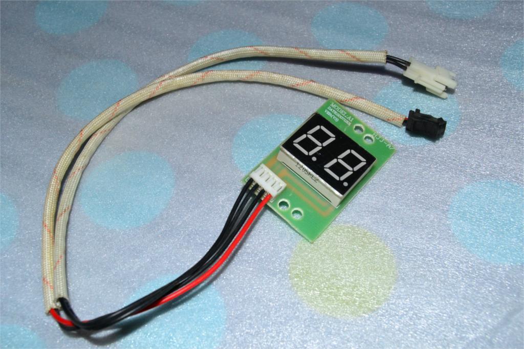 Electric water heater temperature display temperature sensor ...
