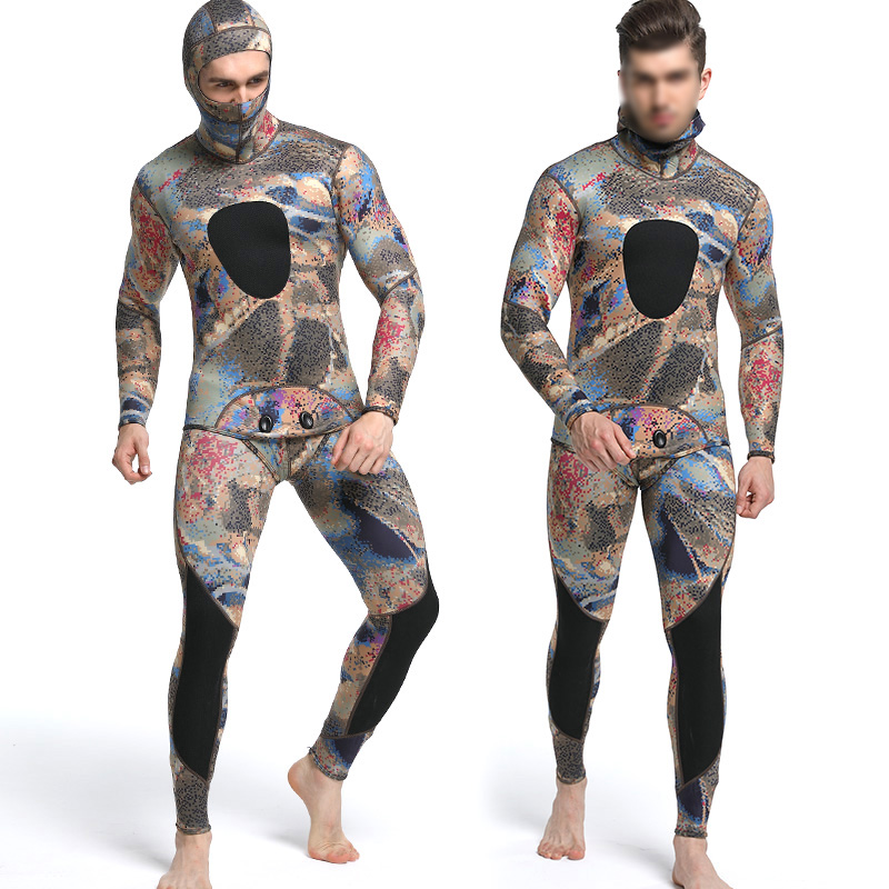 Diving suit neoprene 3mm men pesca diving spearfishing wetsuit surf snorkel swimsuit Split Suits Combination surf wetsuit бра colosseo lavinia 80373 2w