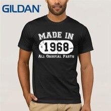 Men T Shirt 2018 Summer 100 Cotton Casual Short Sleeve 50Th Birthday Made