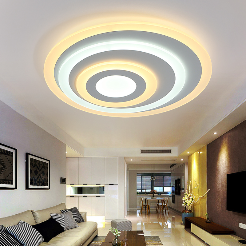 Buy round acrylic led ceiling light for Ceiling light for kids room