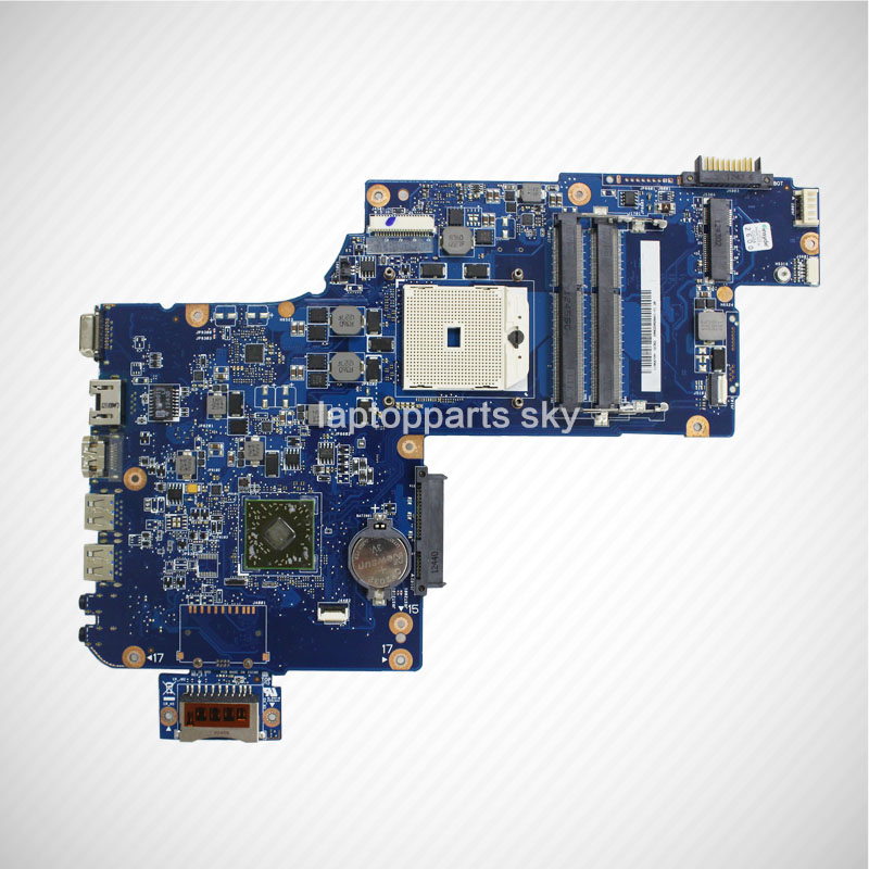 For Toshiba L875D AMD motherboard SOCKET FS1 DDR3 USB 3.0  H000043850 2016 new light blue imitation old st electric guitar good body real guitar photos free shipping