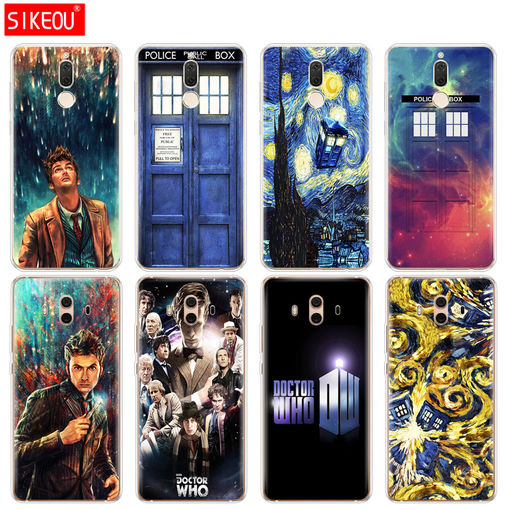 Silicone Cover Phone Case For Huawei Mate 7 8 9 10 Pro Lite Doctor Who Careful Calculation And Strict Budgeting Fitted Cases Phone Bags & Cases