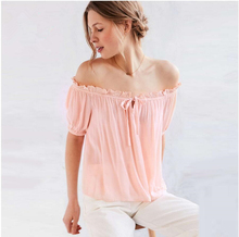 FFTAIQI new fashion summer autumn casual Bohemian style chiffon woman blouse elegant sweet ruffles loose slim sexy women shirts