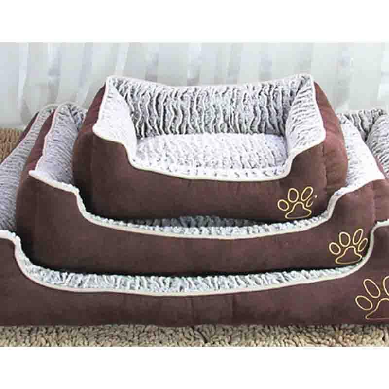 caliente camas para perros mascotas casa de estilo de dibujos animados de impresin camas para pequeos