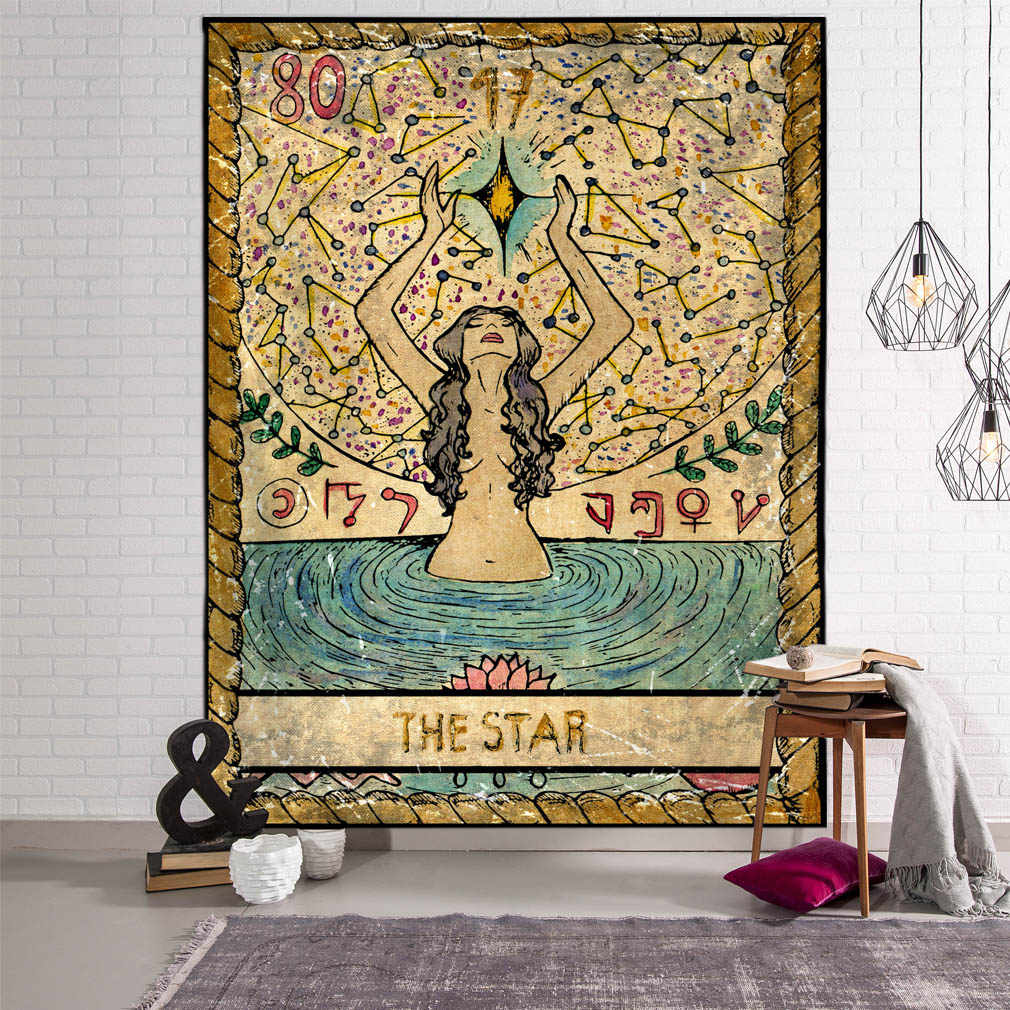 Tapiz de moda Hippie colcha de pared colgante de playa Toalla de Yoga India decoración de la pared del hogar