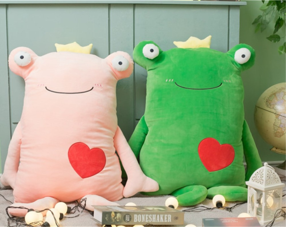Movies & Tv Orderly Cartoon Cute Frog Stuffed Dolls And Plush Toys For Girls Birthday Present Pillow Gift Toys 65cm/110cm Dolls & Stuffed Toys