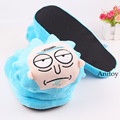 Rick and Morty Plush Shoes Home House Winter Slippers for Children Women Men Stuffed Toys 28cm