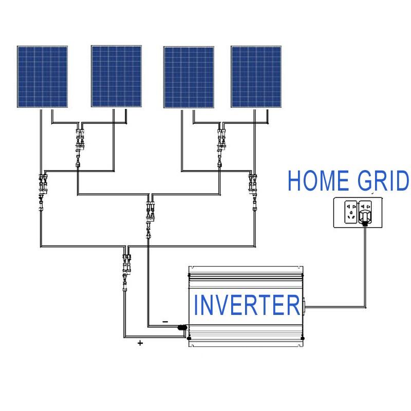 HTB1urvZIVXXXXacXVXXq6xXFXXX6 - 1000W MPPT Solar Grid Tie Power Inverter with Limiter Sensor DC 22-60V / 45-90V to AC 110V 120V 220V 230V 240V connected system