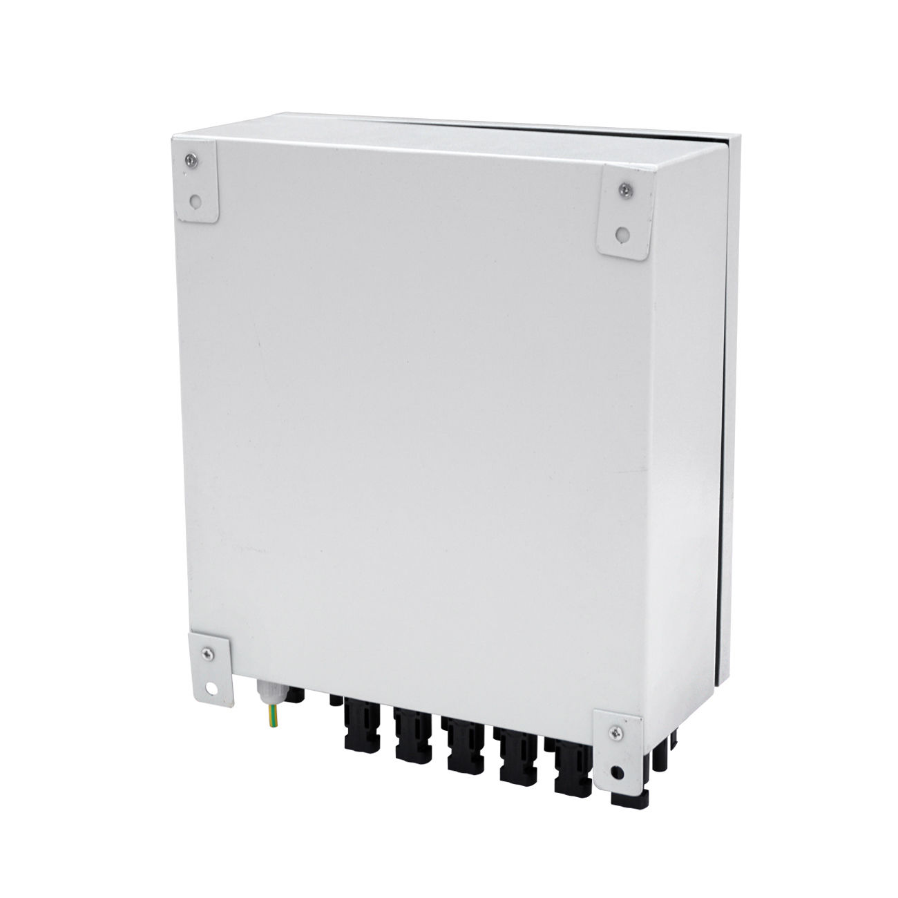 6 String Solar Pv Array Combiner Box W Circuit Breakers Surge Energy Lightning Protection For Off