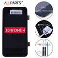 100% Оригинал 4 дюймов TFT 854x480 ЖК-ДИСПЛЕЙ Для ASUS Zenfone 4 Дисплей A400CG С Сенсорным Экраном С Рамкой Планшета Ассамблеи A401CG