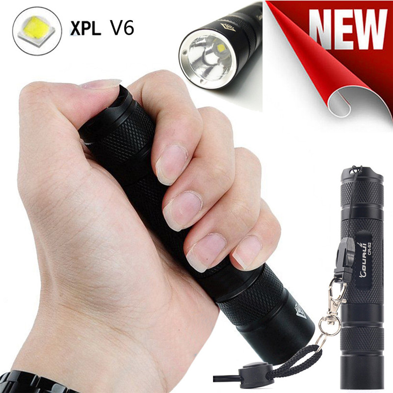 world-wind SUPWILD FIRE#Bicycle lights COURUI XP-L HI V3 LED Aluminum Alloy Waterproof Pocket Flashlight Torch free shipping t*f