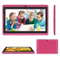 Choifoo 7 polegada Android 4.0 Quad Core Kid Crianças Tablet PC Educação Aprendizagem Tablet Jogos PAD Presente De Aniversário