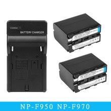 NP-F960 NP-F970 NP F960 F970 F950 Battery For Sony PLM-100 CCD-TRV35 MVC-FD91 MC1500C L10