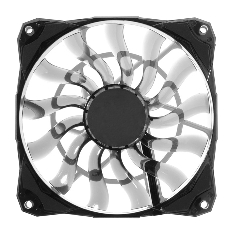 Cooling <font><b>Fan</b></font> Slim 15mm Thickness 53.6CFM <font><b>120mm</b></font> <font><b>PWM</b></font> Silent <font><b>Fan</b></font> for Home Office NK-Shopping image